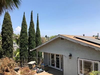 San Diego Single Family Home For Sale: Springfield St