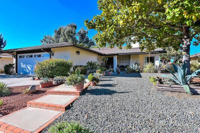 Single Family Home For Sale: 12616 Mantilla Road
