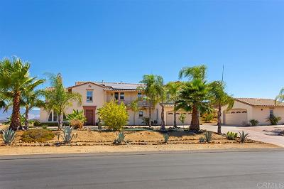 Valley Center Single Family Home For Sale: 27233 Red Ironbark Dr