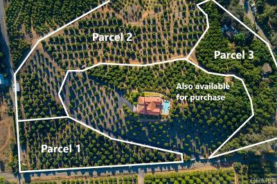 Valley Center Residential Lots & Land For Sale: 33440 Lilac Rd #1-3