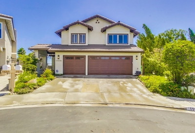 San Diego Single Family Home For Sale: 11675 Vaca Place