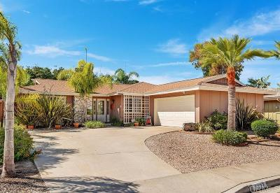 San Diego CA Single Family Home For Sale: $940,000