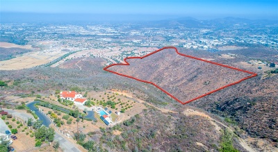 San Marcos Residential Lots & Land For Sale: Twin Oaks Valley Rd #1