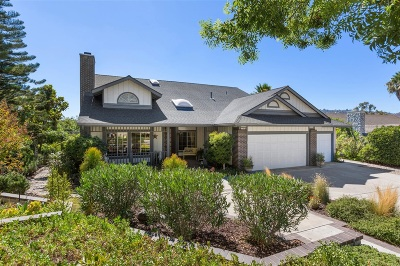 Escondido Single Family Home For Sale: 2781 Canyon Oak Pl