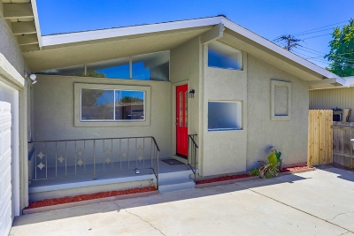 Escondido Single Family Home For Sale: 610 N Elm St
