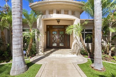 Rancho Santa Fe Single Family Home For Sale: 7151 Via Del Charro