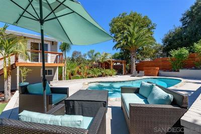 La Mesa Single Family Home For Sale: 4601 Judson Way