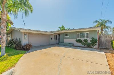 San Diego CA Single Family Home For Sale: $650,000