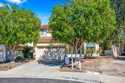 Single Family Home For Sale: 14193 Classique Way