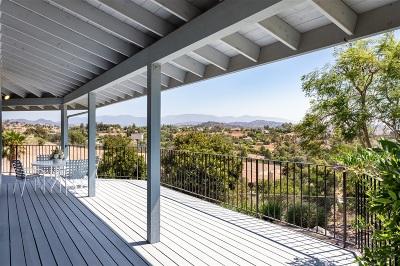 Fallbrook Single Family Home For Sale: 3944 Alta Vista Drive
