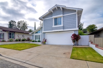 Escondido Single Family Home For Sale: 256 Boleroridge Pl