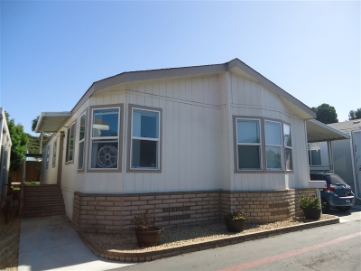 San Diego County Mobile/Manufactured For Sale: 1225 Oceanside Blvd #324