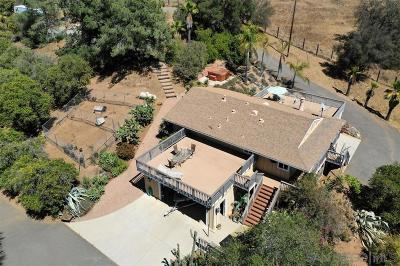 Valley Center Single Family Home For Sale: 33231 Lilac Rd.