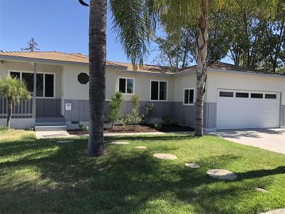Escondido Single Family Home For Sale: 814 Fern Street