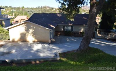 Escondido Single Family Home For Sale: 3632 Prince St