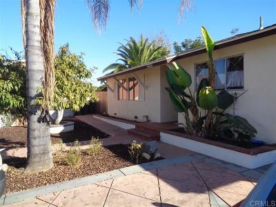 Escondido Single Family Home For Sale: 1425 El Prado Pl