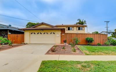 San Diego CA Single Family Home For Sale: $879,999