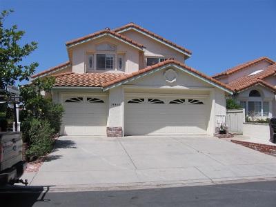 Single Family Home For Sale: 14468 Corte De Verdad