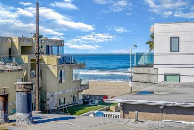 Pacific Beach, Mission Beach Multi Family 2-4 For Sale: 722 Jersey Ct