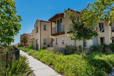 Chula Vista Townhouse For Sale: 1803 Talmadge Dr #9