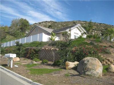 San Diego County Single Family Home For Sale: 14510 Red Hawk Lane