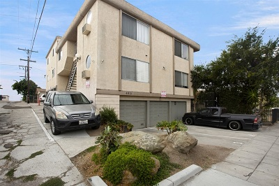 San Diego County Attached For Sale: 4921 Trojan Ave #3