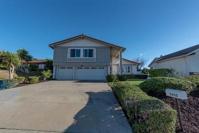 Encinitas CA Single Family Home For Sale: $980,000