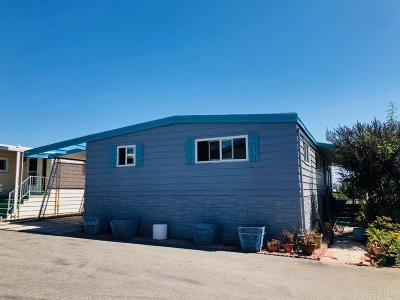 San Diego County Mobile/Manufactured For Sale: 126 Brookside Ln.