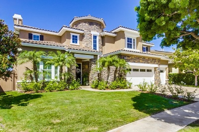 Encinitas CA Single Family Home For Sale: $1,849,000