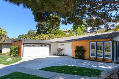 La Jolla Single Family Home For Sale: 2223 Bahia Drive