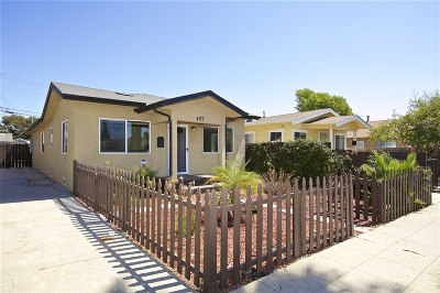North Park, North Park - San Diego, North Park Bordering South Park, North Park, Kenningston, North Park/City Heights Single Family Home For Sale: 4173 39th Street