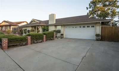 Poway Single Family Home For Sale: 13407 Pequot Drive