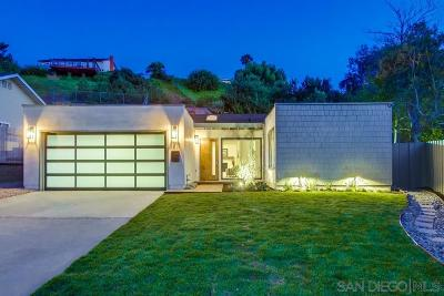 San Diego CA Single Family Home For Sale: $879,000
