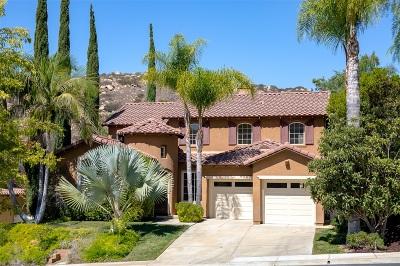 Escondido Single Family Home For Sale: 3397 Holly Oak