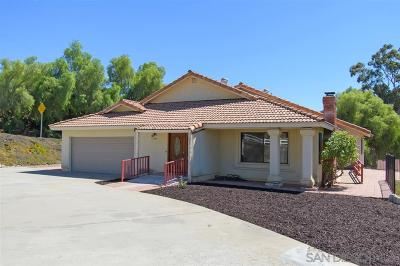 Poway Single Family Home For Sale: 13985 Ipava Dr.