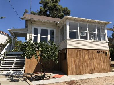 La Mesa Single Family Home For Sale: 8264 Orchard Ave