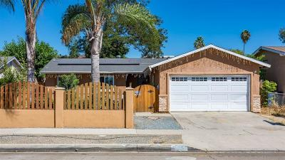 San Diego Single Family Home For Sale: 175 S S Meadowbrook Dr