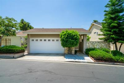 Carlsbad Single Family Home For Sale: 7557 Caloma Circle
