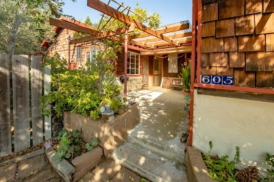 Encinitas Single Family Home For Sale: 605 Normandy Rd