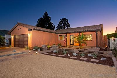 San Diego CA Single Family Home For Sale: $740,000