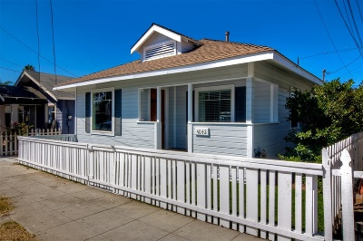 North Park Single Family Home For Sale: 4042 34th St