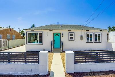 San Diego Single Family Home For Sale: 914 42nd St