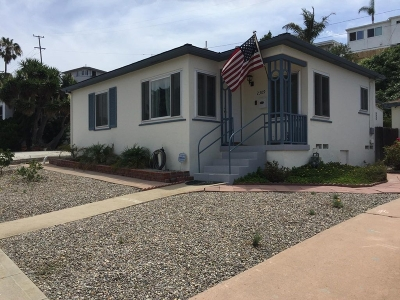 Point Loma Rental For Rent: 2309 Poinsettia