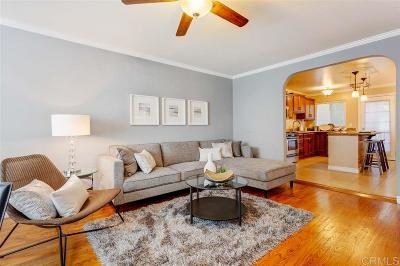 San Diego Attached For Sale: 3455 Adams Ave #3
