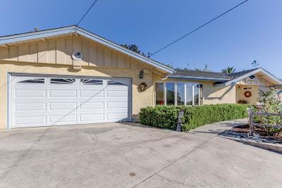 Bonita Single Family Home For Sale: 295 Camino Del Cerro Grande