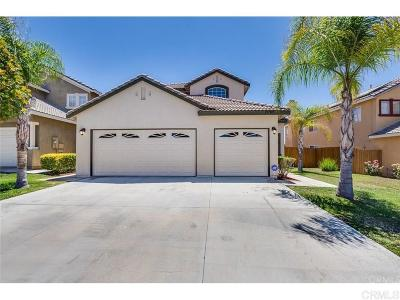 Riverside County Single Family Home For Sale: 25705 Palermo Ct.