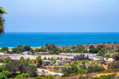 Encinitas Single Family Home For Sale: 1734 Burgundy