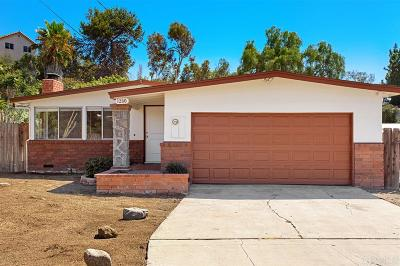 Vista CA Single Family Home For Sale: $495,000