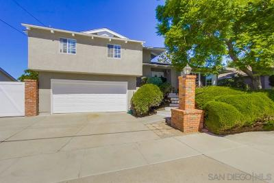 San Diego Single Family Home For Sale: 7102 Glenflora Ave