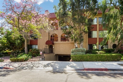 San Diego Attached For Sale: 2849 E St #21